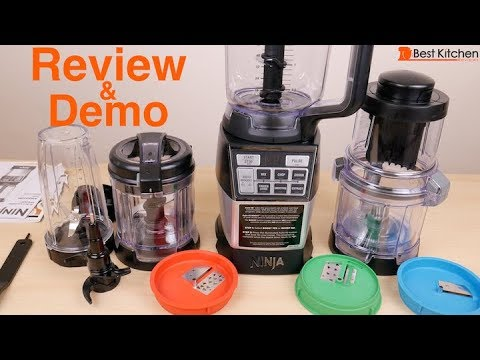 Ninja 4-in-1 Blender and Food Processor System Review