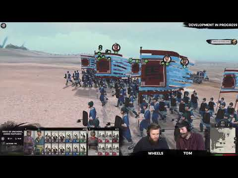 Total War: THREE KINGDOMS - FIRST Ma Teng Live Let's Play PART 1/3