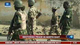 Military Kills 35 Bandits, Rescues 40 Hostages In Zamfara 12/04/19 Pt.1 |News@10|