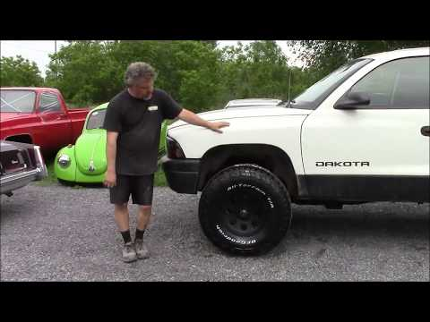 Upgraded Wheels & Tire Package, Dodge Dakota, Part 2,  lastchanceautorestore com