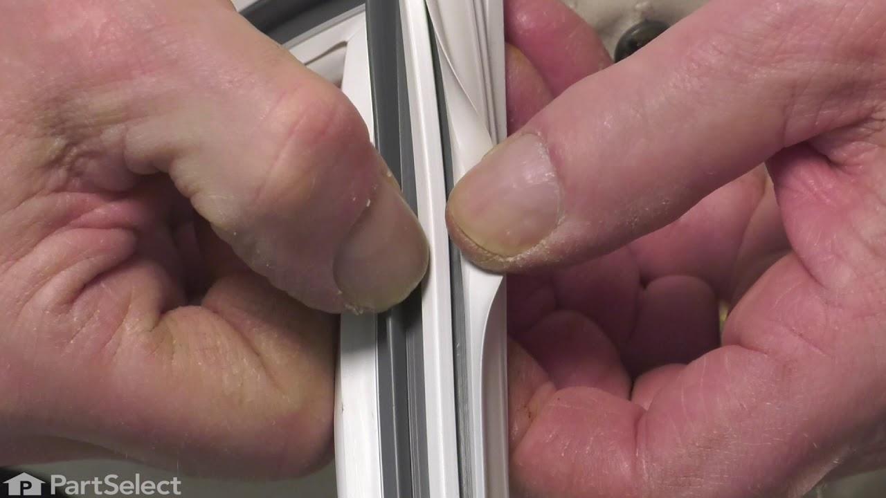 Replacing your General Electric Refrigerator Freezer Door Gasket