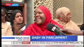 ''Baby in Parliament'' Kwale MP ejected from sittings after she walked in with 5-month old baby