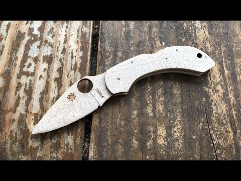 The Spyderco Wooden Dragonfly Pocketknife: The Full Nick Shabazz Review