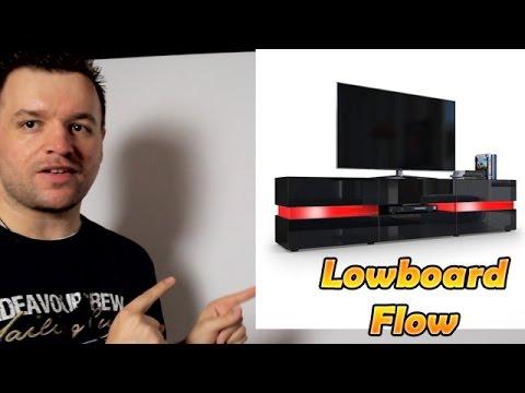 Lowboard Flow Unboxing + Aufbau + Review [Deutsch] 1080p
