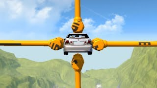Beamng drive - Barely Possible car Stunts