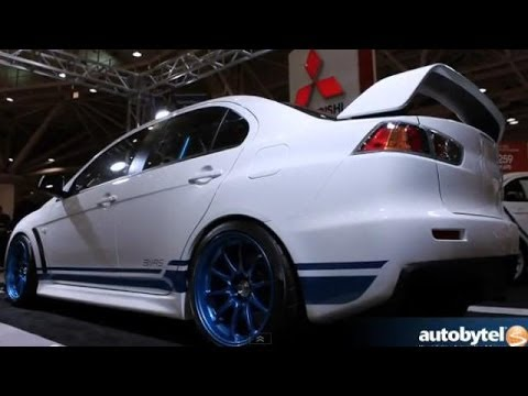 Mitsubishi 311RS EVO X Debut at the 2013 Twin Cities Auto Show
