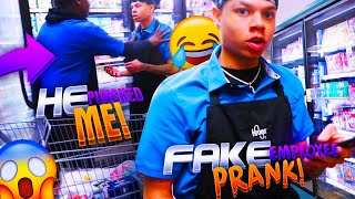 FAKE KROGER EMPLOYEE PRANK! I TRIED TO FIRE SOMEBODY AND GOT PUNCHED 😂🤦🏽‍♂️👊🏼