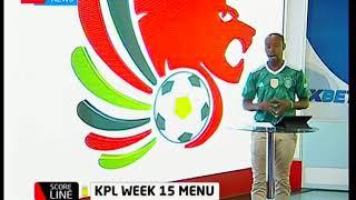 Score Line: Kenya premier league fixtures