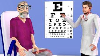नेत्रालय डॉक्टर क्लिनिक Eye Doctors Clinic Comedy Video - हिन्दी कहानिया Hindi Kahaniya Comedy Video