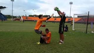 VIDEO  Yo Jae Hoon Kiper Baru PBFC Tetap Pilih Klub Indonesia