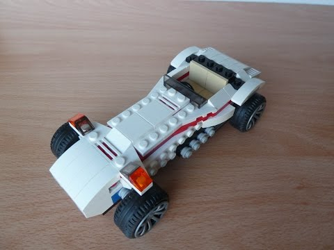 Vidéo LEGO Creator 31006 : Le bolide