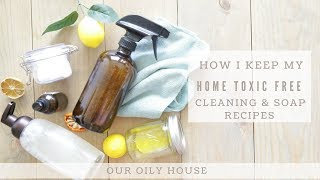 My Favorite Natural Cleaning Recipes | Best Essential Oils For Cleaning