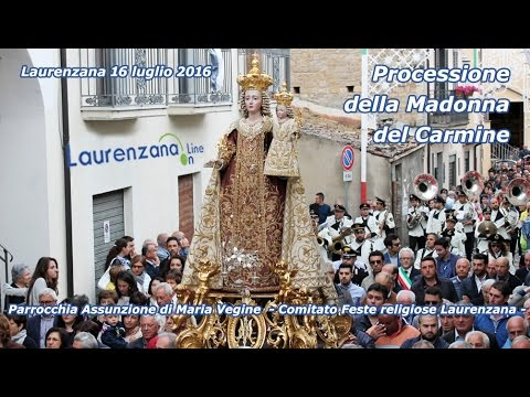 Preview video Video processione Madonna del Carmine 2016 Laurenzana 16 luglio 2016