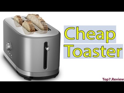 , KitchenAid KMT4116CU 4 Slice Long Slot Toaster with High Lift Lever, Contour Silver
