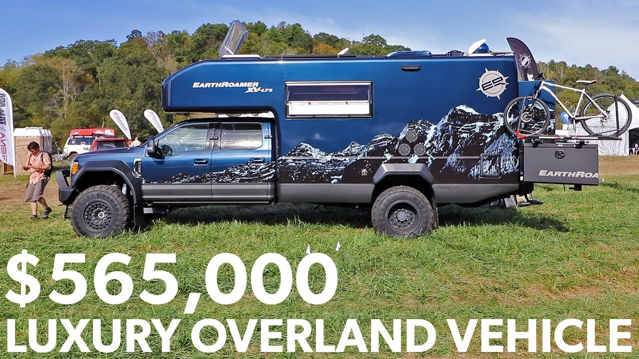 What a $565,000 Overland Vehicle Looks Like – EarthRoamer Luxury Expedition Vehicle Rig Walkaround
