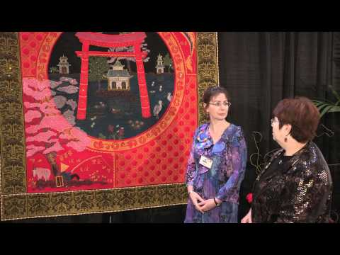 Sue McCarty - Best of Show Winner - International Quilt Festival-Houston