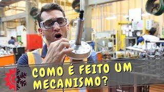 Como é feito e testado mecanismo original