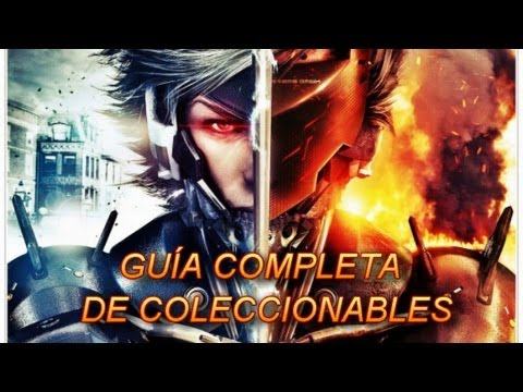 Metal Gear Rising: Revengeance Guía de coleccionables // All collectibles guide// En español