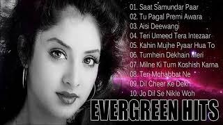 Evergreen Hindi Songs - Divya Bharti Special - Sadhna Sargam, Kavita Krishnamurty & Kumar Sanu