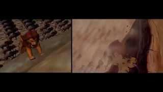 Lion King 3D | Side by side comparison