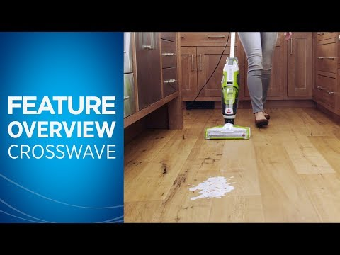 Crosswave All In One Multi Surface Cleaner Demonstration Video