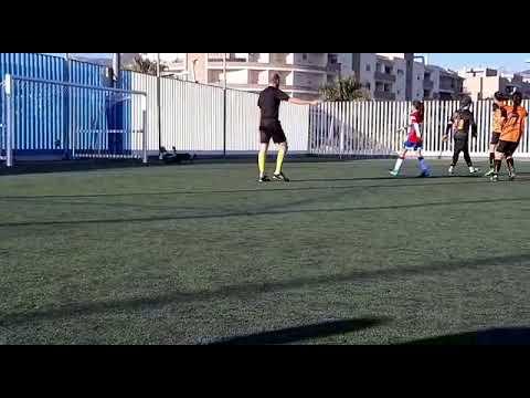 Lanzamiento de penalti de Eli, frente al Granada