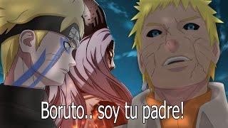 El Triste ENCUENTRO De Boruto & Naruto Thejarjarhero
