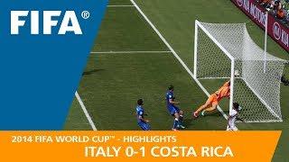 ITALY v COSTA RICA (0:1) - 2014 FIFA World Cup™