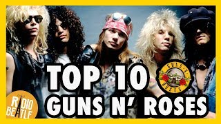 TOP 10 Canciones de GUNS N' ROSES | Radio-Beatle