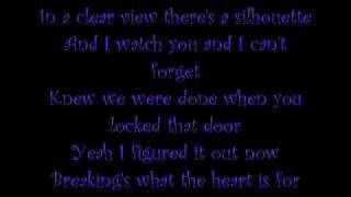 Breakin' by The All American Rejects (with lyrics in video)