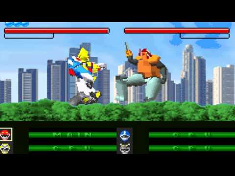power rangers wild force gba rom download