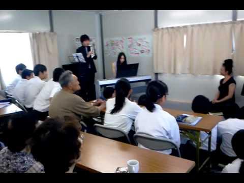 戸倉中学校仮設 絵と音楽でつなぐ橋(2)