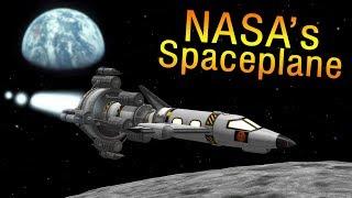 KSP: NASA's secret MOON Spaceplane that never flew - The Lunex Project
