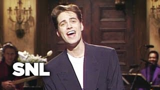 Monologue: Jason Priestley Answers Questions About Luke Perry - SNL
