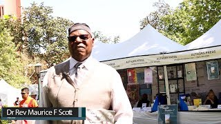 L.A. Times Festival of Books | Dr Rev Maurice F Scott Interview