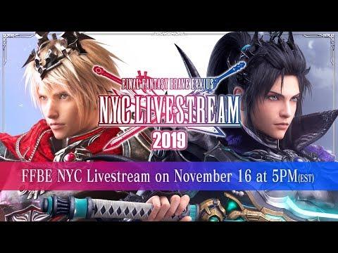 【FFBE】FFBE NYC Livestream 2019【Global】