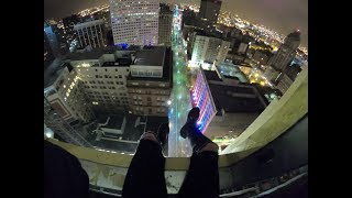 Crazy 140M Cleveland Crane Climb | ZACH