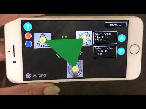 Math Shapes Augmented Reality