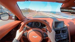 [WR Magazine] 2020 Aston Martin DB11 Volante - POV Test Drive by Tedward (Binaural Audio)