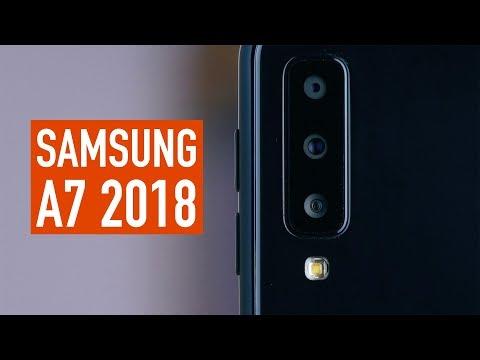 Первый взгляд на Samsung A7 2018