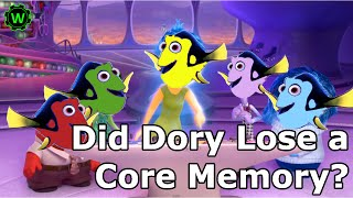 Did Dory lose a Core Memory? | Finding Dory Theory: Discovering Disney