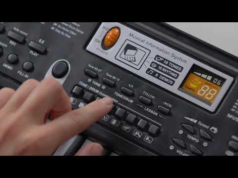 Синтезатор с микрофоном 61кл MQ-6106
