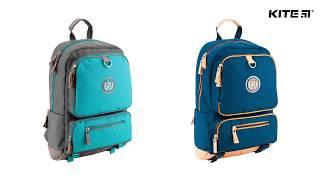 """Рюкзак молодежный College Line K18-888L-2 от компании Интернет-магазин """"Радуга"""" - школьные рюкзаки, канцтовары, творчество - видео"""