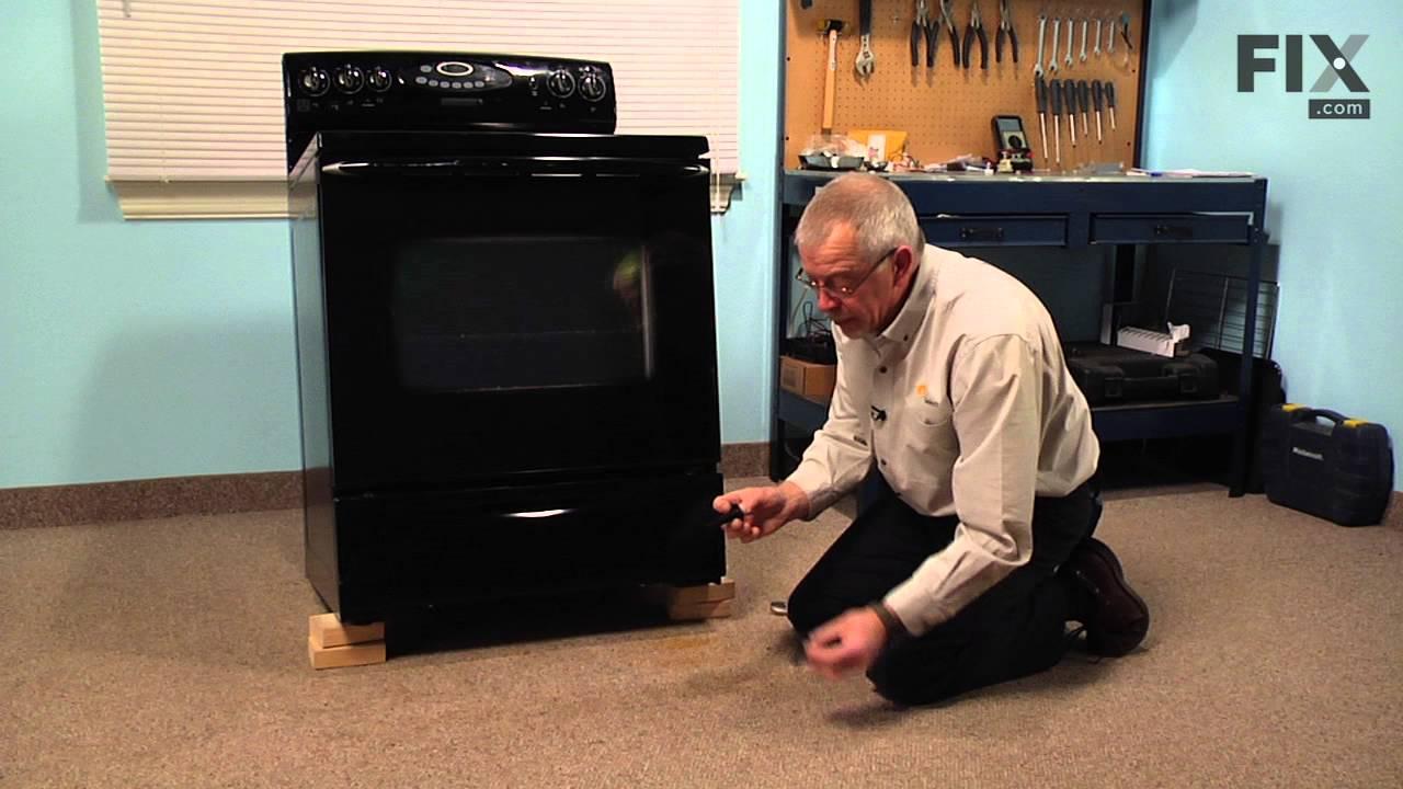 Replacing your Maytag Range Leveling Leg