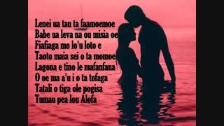 Tiga ole alofa_Frontline 2014[samoan Love song with LYRICS]