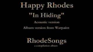 Happy Rhodes Rhodesongs 1994 Compilation 10 In Hiding