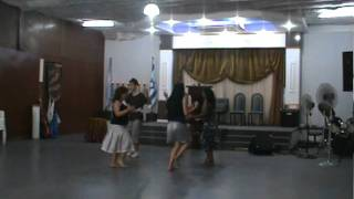 preview picture of video 'GRUPO DE DANZAS SHEMA YSRAEL en CANTAREensayo'