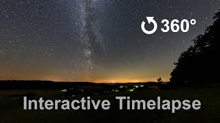 Interactiv 360 Degree Video of the Milky Way