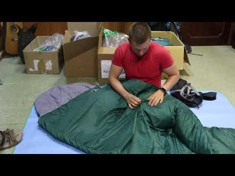 Спальный мешок Greenell «Шелин- 5». Видеообзор.