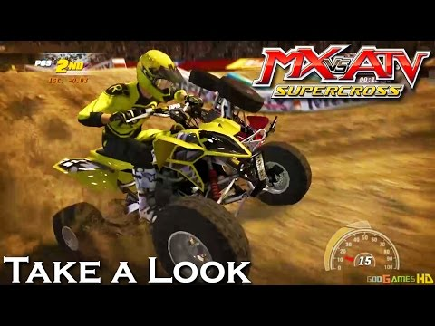 mx vs atv alive supercross xbox 360